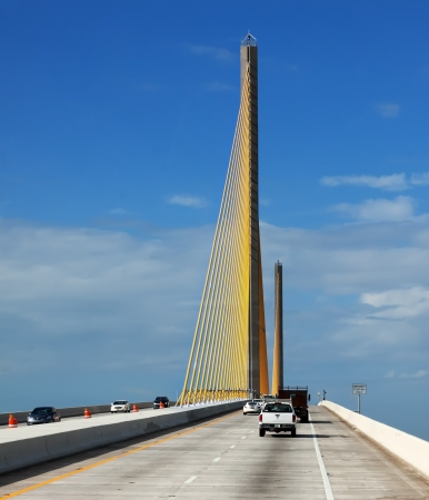 The Bob Graham Sunshine Skyway Bridge This bridge spans Tampa Bay,connecting St Petersburg and Terra Ceia,Florida