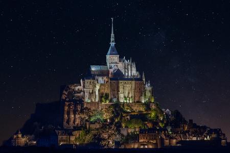 mont saint michel: The Mont Saint-Michel Editorial