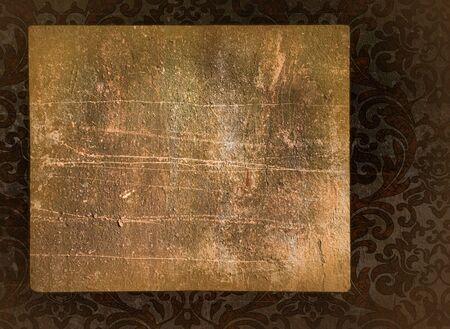 Vintage blank on the renaissance background Stock Photo - 4607852