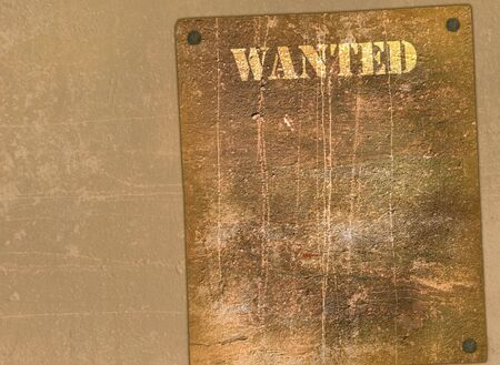 buckaroo: Retro poster in Wild West style