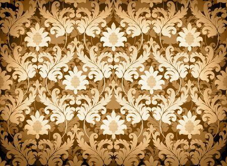 Decorative light gold renaissance background Stock Photo - 4768476