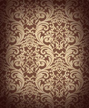 Decorative brown renaissance background Stock Photo - 4775989