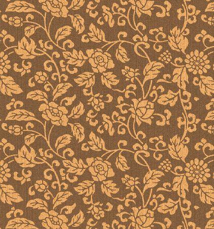 Decorative fabric flower background Stock Photo - 4848289