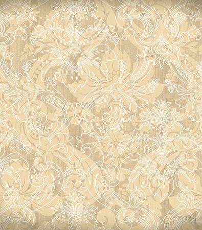 Decorative light beige renaissance background