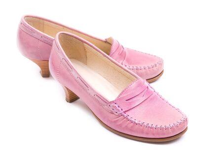 Stylish female pink shoes Stock Photo - 5043123