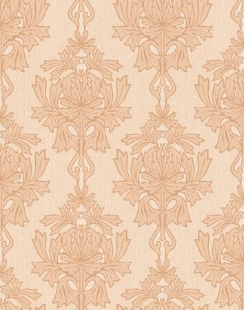 background with beige damask  photo