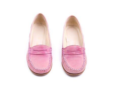 Stylish female pink shoes Stock Photo - 5133081