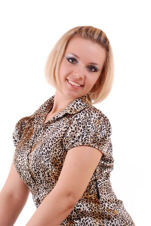 Beautiful fresh blond girl with perfect smile Stock Photo - 5133108