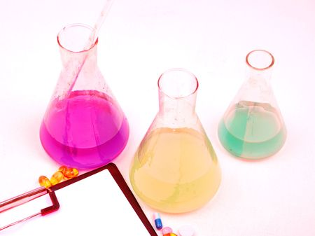Medical science equipment. Research, laboratory, science, testing. photo