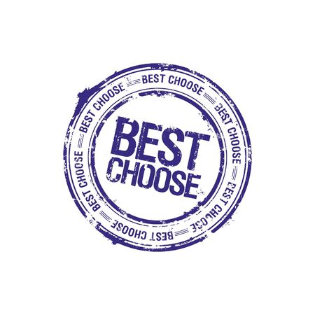 vector best choose leader stamp Stock Photo - 5726118