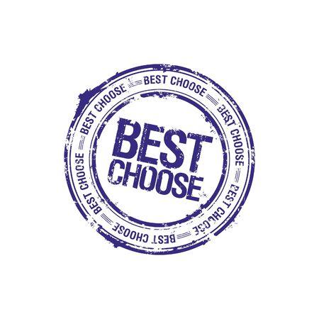 vector best choose leader stamp Stock Photo - 5726118