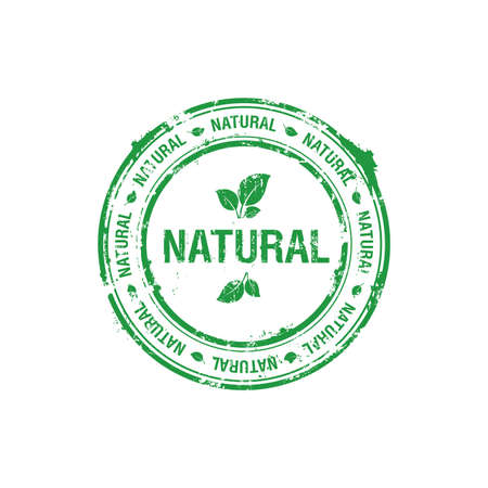 vector ecology natural stamp Stock Photo - 5726125