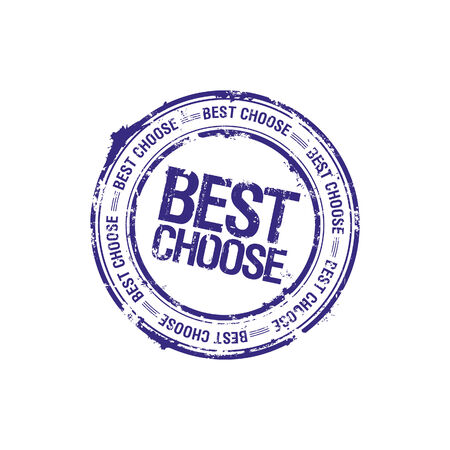vector best choose leader stamp Stock Vector - 5743423