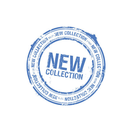 vector new collection stamp Stock Vector - 5743422