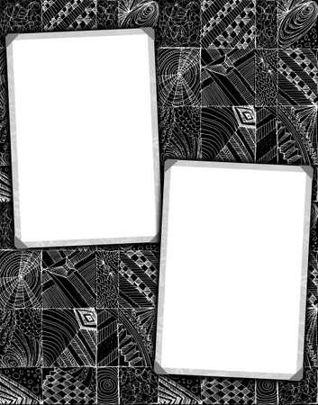 street style grunge frames photo