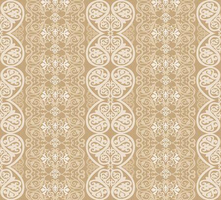 venetian victorian: beige arabesque background