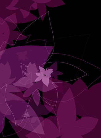 violet flowers background Stock Photo - 6105951