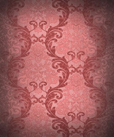 Seamless damask wallpaper Stock Photo - 6335278