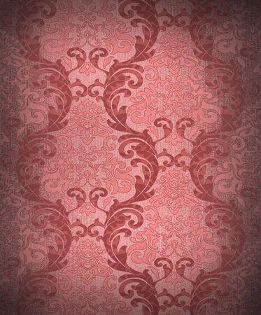 Seamless damask wallpaper Stock Photo - 6335278