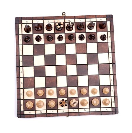 chess isolated on white Stock Photo - 6410261