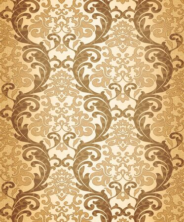 Seamless damask wallpaper Stock Photo - 6698444