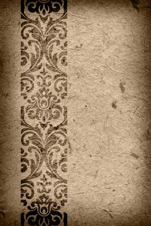Decorative baroque background with place for text photo