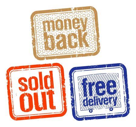 office products: conjunto de sellos para mejores ventas