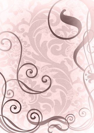 wallpaper with decorative weaves photo