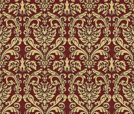 Seamless damask wallpaper Stock Photo - 6991143