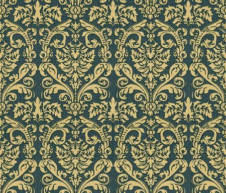 Seamless damask wallpaper Stock Photo - 6991144