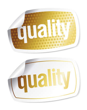 imitation: Set of stickers for quality products with imitation of the hologram