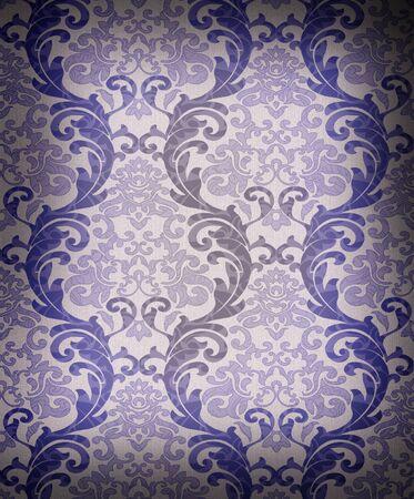 Seamless damask wallpaper Stock Photo - 7309184