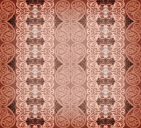 brown arabesque background Stock Photo - 7365967
