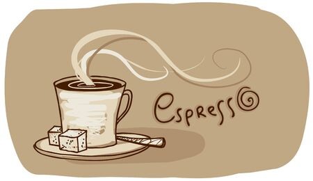 lump: Coffee sign