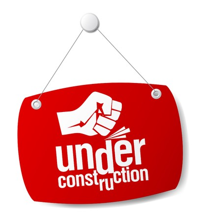 under construction sign Stock Vector - 7571107