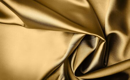 satiny: Smooth elegant gold satin background