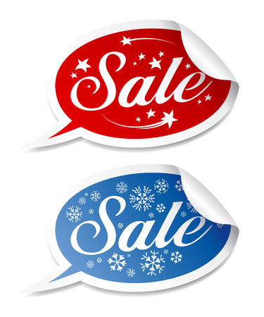 Winter Sale stickers
