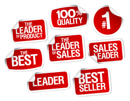 warranty: Set of stickers for best sales