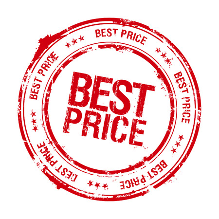 price: Best price leader stamp.