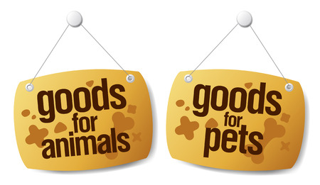 towary dla zwierzÄ…t domowych znaki zestawu