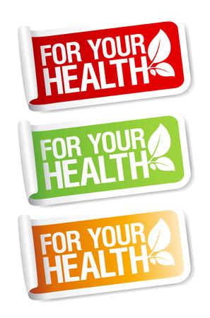 medical choice: Vital stickers set.