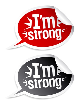 I`m bestseller stickers in form of speech bubbles.  Stock Vector - 9130937