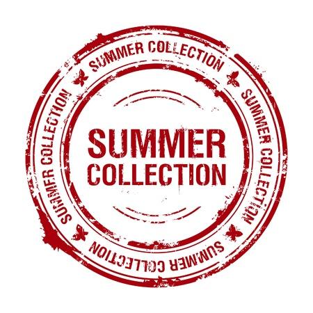 Summer collection entériner Vecteurs