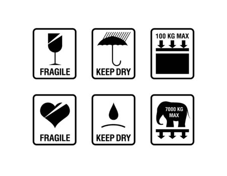 ship package: packing symbols