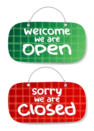 shopsign: Open and Closed Signs