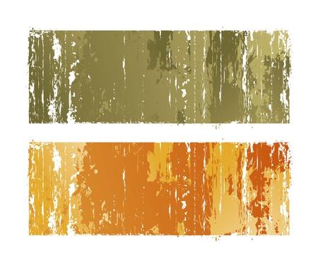 scratch card: color grunge backgrounds Illustration