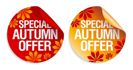 wholesale: Special autumn offer stickers set.