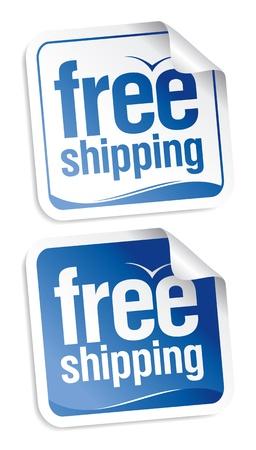 air freight: Set di adesivi spedizione gratuita.