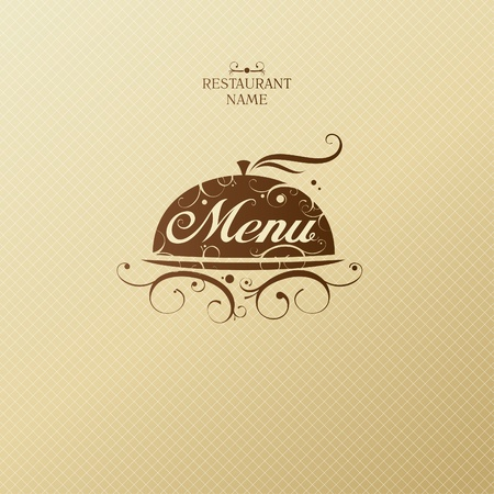 menu vintage: Restaurant Menu Card Design template. Illustration