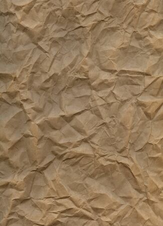 Old crumpled paper background. Stock Photo - 11088830